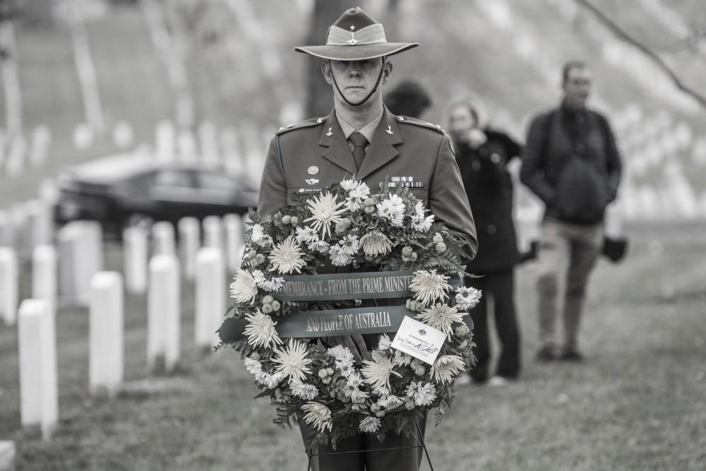ARLINGTON, VA, UNITED STATES 02.22.2018 Photo by Elizabeth Fraser   Arlington National Cemetery